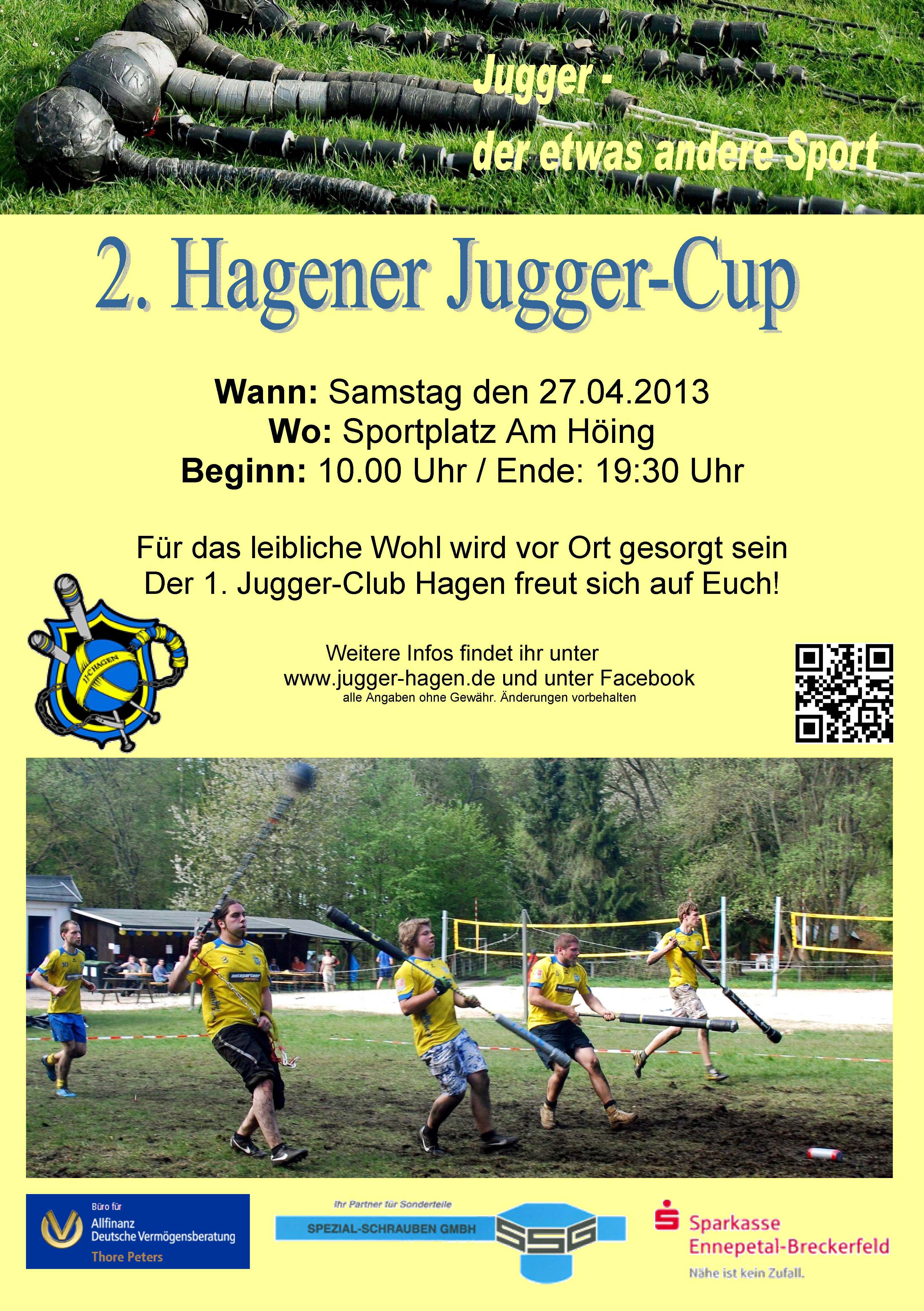 Flyer für Turnier